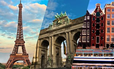 Франция — Бельгия — Голландия